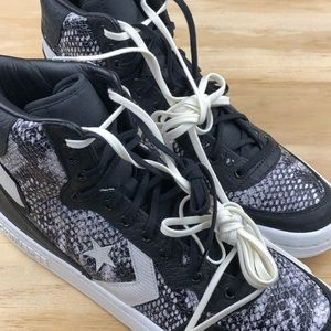 cf7fcdfb0df2 Converse Shoes - Converse Fastbreak High Top Snake Skin Python Size